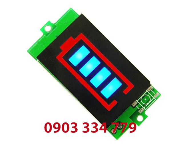 Đồng hồ báo vôn 3S 12.6V