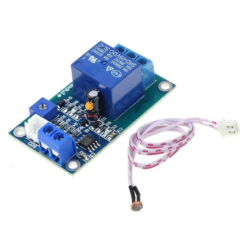 Module cảm biến ánh sáng có relay