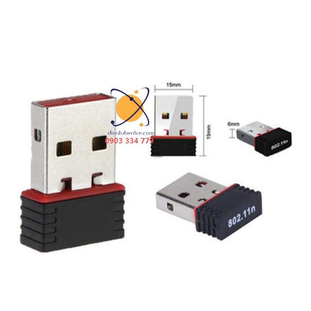 Card mạng không dây Mini USB 150Mbps Wireless