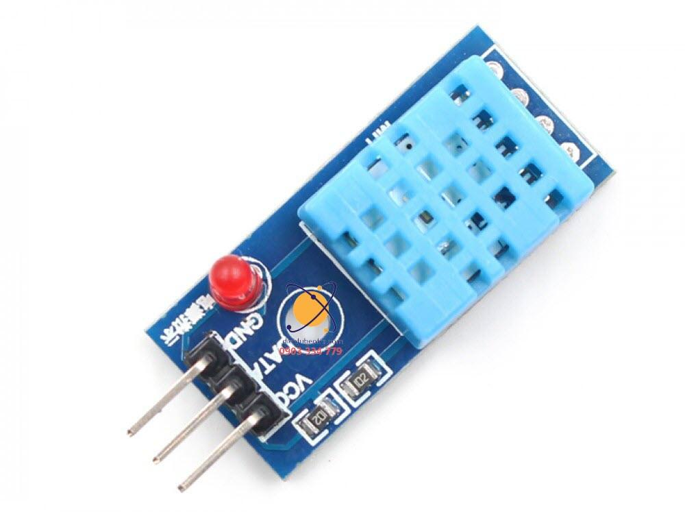 Mạch cảm biến nhiệt độ - độ âm DHT11