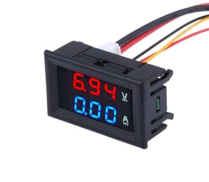 Đồng hồ đo Vôn - Ampe DC