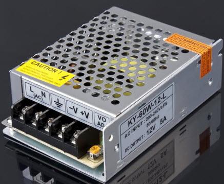 Nguồn tổ ong 12V 5A - 60W
