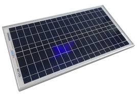 Tấm pin năng lượng mặt trời 18V 50W