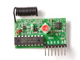 Module thu RF 315MHz PT2272 T4