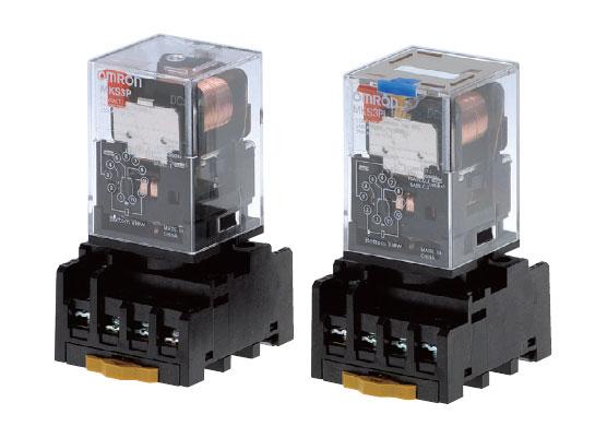 Relay kiếng 24VDC 220VAC + Đế - Tháo máy