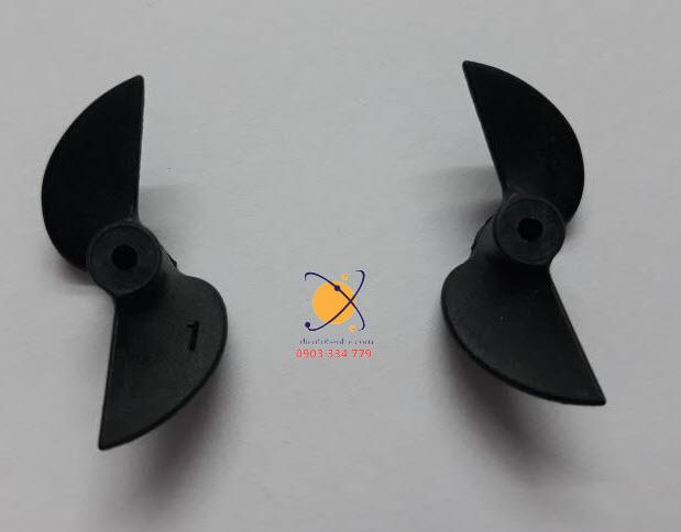 Cặp Chân Vịt 2 cánh 30mm - Trục 2mm