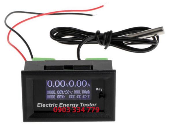 Đồng hồ đo dòng áp công suất nhiệt độ DC