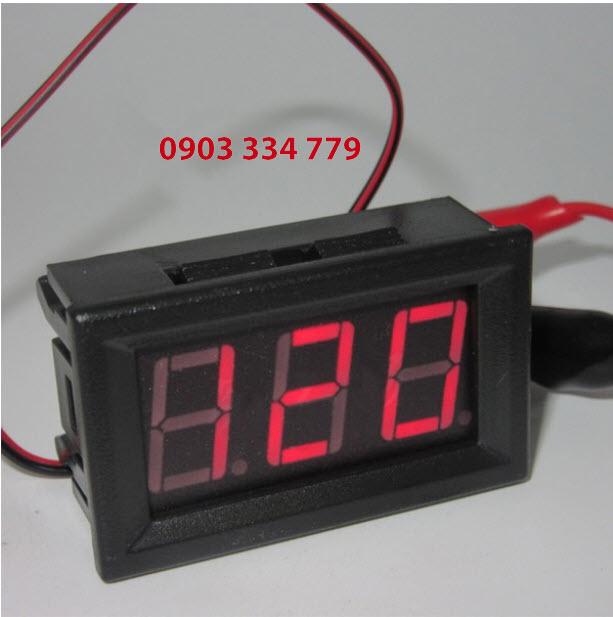 Đồng hồ đo vôn AC vol Đỏ