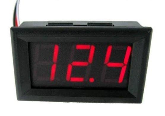 Đồng hồ đo volt 0-30VDC lớn