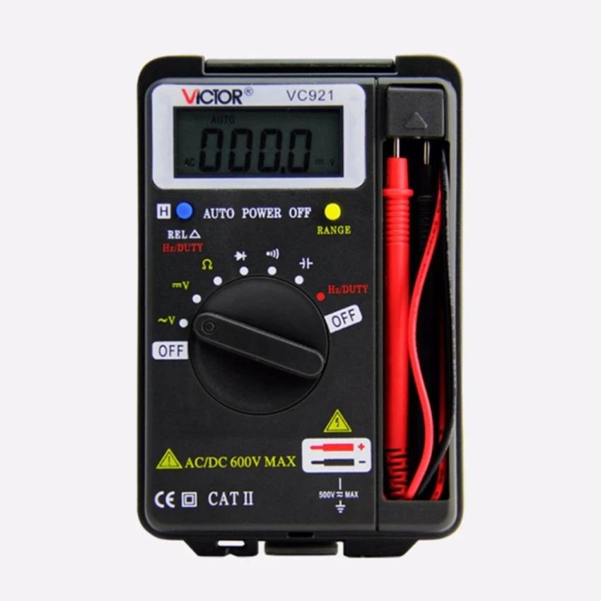 Đồng hồ đo điện vạn năng bỏ túi Victor V921