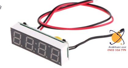 Module hiển thị nhiệt độ - thời gian - điện áp xài pin