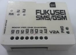 Điều Khiển Qua Điện Thoại 2 Kênh GSM Fukusei