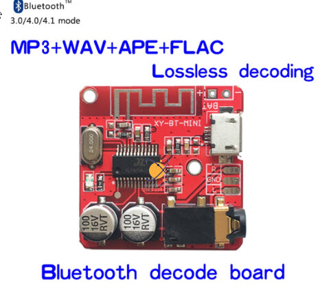 Module Giải Mã Mini MP3 Bluetooth 4.1