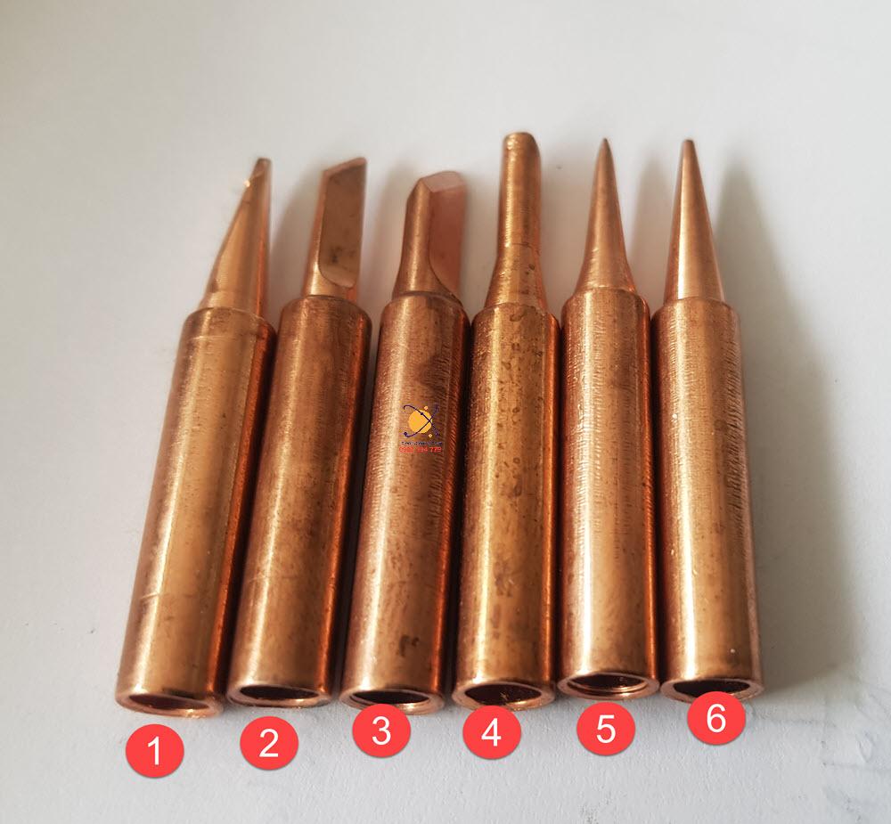 Mũi hàn đồng hakko 936 mẫu 5