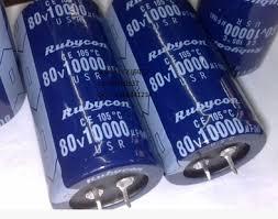 Tụ 10000uF 80V RUBYCON