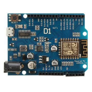 Wemos D1 - ESP8266 Arduino Wifi